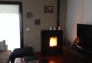 Estufa pellets 10 kW a Aixirivall