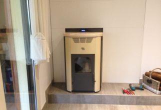 Termo-estufa de 24kW connectada als radiadors