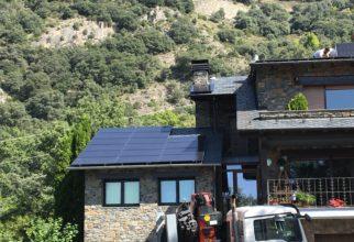 Solar fotovoltaica de 12kw a Sant Julià de Lòria