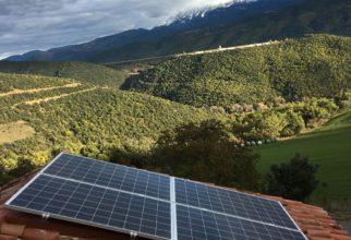 Solar fotovoltaica aïllada de 3kw a Vilamitjana