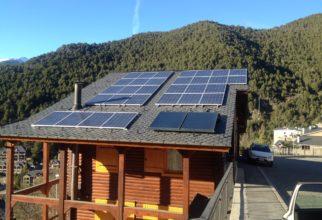 Solar fotovoltaica de 8kw connectada a xarxa