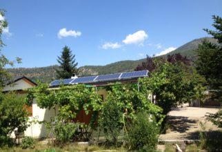 Solar fotovoltaica aïllada de 2kw al parc de Segre de La Seu