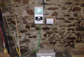 Solar fotovoltaica aïllada en una borda a Conflent